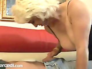 aged dana hayes swallows cum