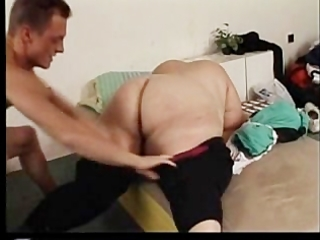 overweight and unsightly older fucked by young