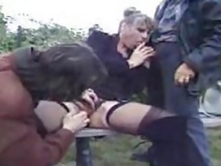 sexy french older fucks 10 boyz in the park