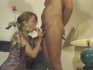 french milf sucks his rod and receives screwed on