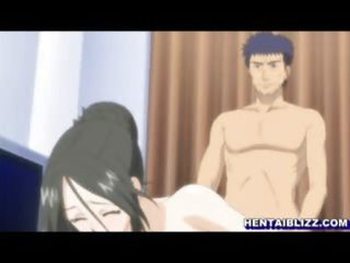 mamma hentai with bigtits trio drilled and filmed