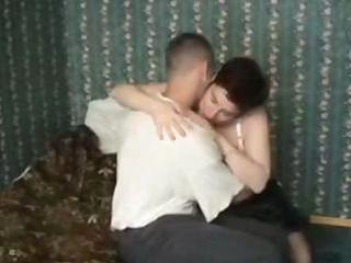 plump older acquires a juvenile man to fuck her