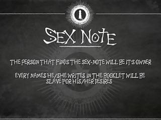 sex note video 0