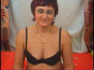 ribald granny in fishnet nylons craves to