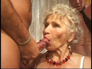 granny has fun with cocks part 0