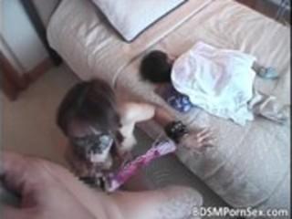 dark brown oriental mommy can bondage