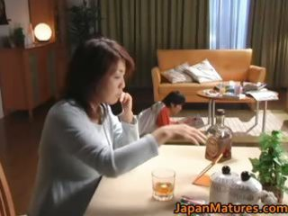 lascivious japanese older hotties engulfing