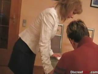 hot german mamma teaches guy