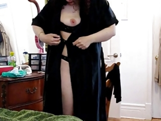 chubby older training anal by husband