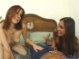 mom and daughter get fucked by large schlong
