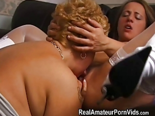 mature obese housewives toy and assplay