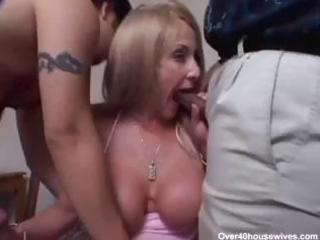 sexy buty older lexi takes two rods and bangs em
