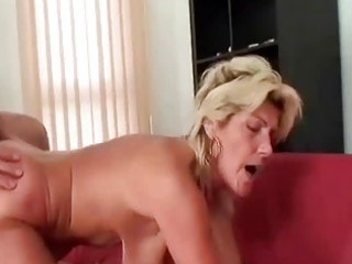 granny swallows a large schlong and copulates it