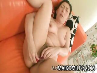 kimiko yasue - nippon older receiving a creampie