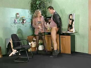 nasty german office sex