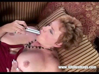 old filthy housewife in solo