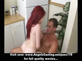 ardent s garb redhead riding penis and fucking