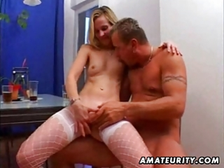 mature amateur wife homemade hardcore with facial