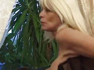 pierced aged slut anal sex
