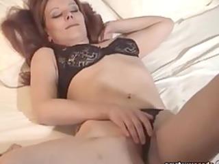 milf lingerie dilettante masturbating exgf solo