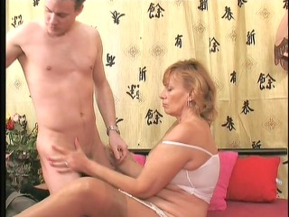 concupiscent mature gets laid 3/9