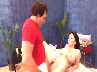 milfs getting massage with cheerful ending - cd8