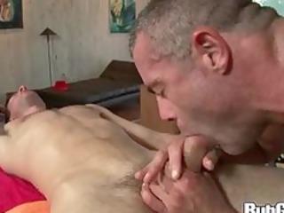 rubgay pleased ending blowing