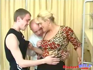 parents teach their son some sex lessons