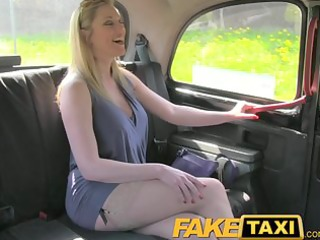 faketaxi blonde with large natural zeppelins