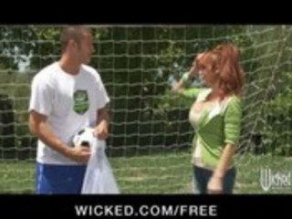 big-tit british redhead soccer mom lia lor bonks