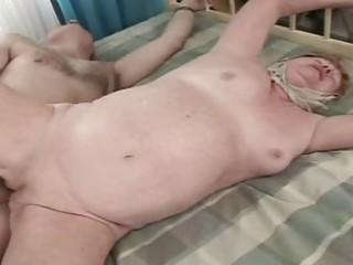 old granny receives drilled hard and truly