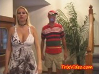 milf mommy and daddy fuck the baby sitter