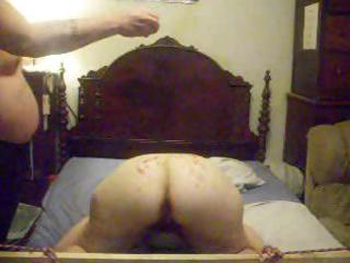 nasty non-professional wife lets her hubby light