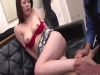 asian mature gets carnal rimjob