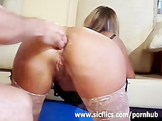 the double anal fisted housewife