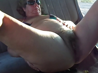 bulky granny masturbation
