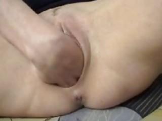 hardcore mature fist fucking fetish