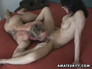 breasty aged wife homemade hardcore act