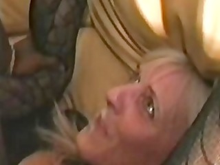 non-professional white milf get screwed by black