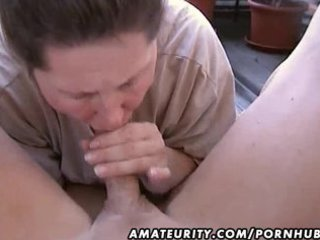 bulky amateur wife homemade blowjob and fuck