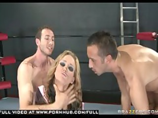 large tit blond hardcore dped punished in ring