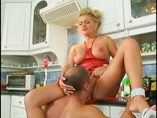 german d like to fuck drilled in the kitchen