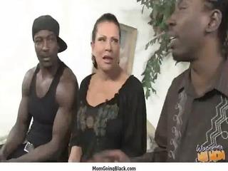 mother i porn - big black knob do older white