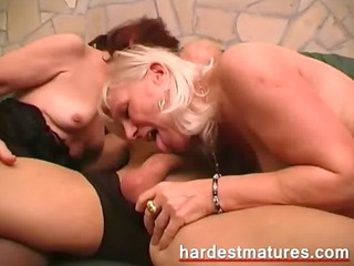 matures with a lustful younger guy