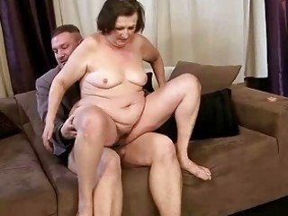 unsightly granny getting drilled beautiful hard