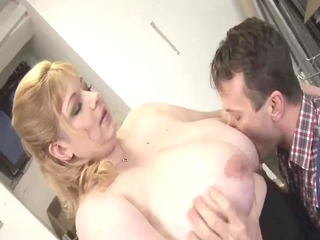 blonde large beautiful woman-mother id like to