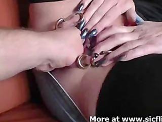 multi pierced snatch slut. fisted, she is like it