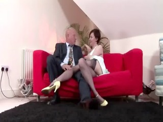 oral for naughty aged doxy