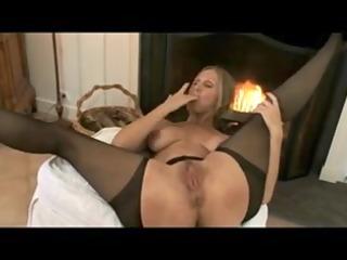 older mommy nylons & hard sexy teats