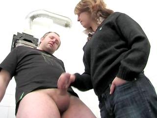 plumber handjob by snahbrandy